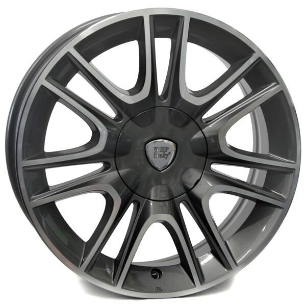 Купить Автомобильные диски, Литой диск WSP Italy LANCIA W317 RIGA R15 W6 PCD4X98 ET30 DIA58, 1 ANTHRACITE POLISHED
