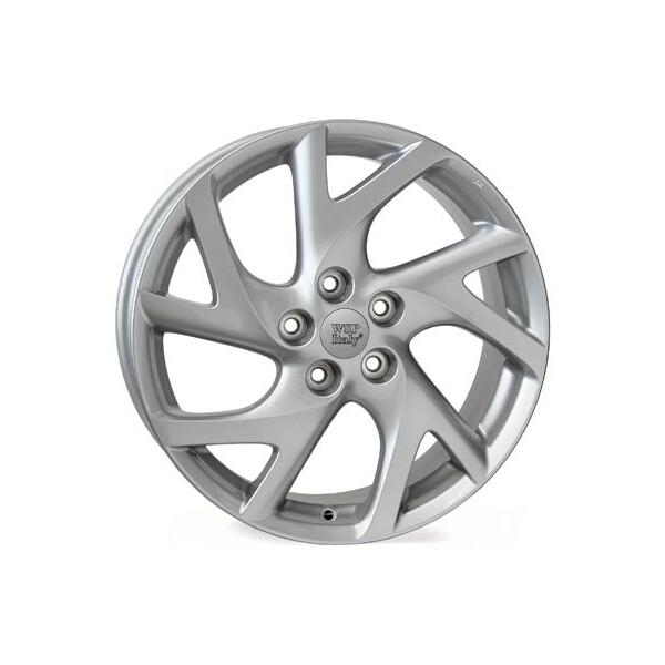 Купить Автомобильные диски, Литой диск WSP Italy MAZDA W1906 ECLIPSE R17 W7 PCD5X114, 3 ET52, 5 DIA67, 1 SILVER