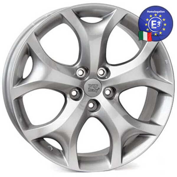 Купить Автомобильные диски, Литой диск WSP Italy MAZDA W1905 SEINE CX-7 R18 W7, 5 PCD5X114, 3 ET50 DIA67, 1 HYPER SILVER