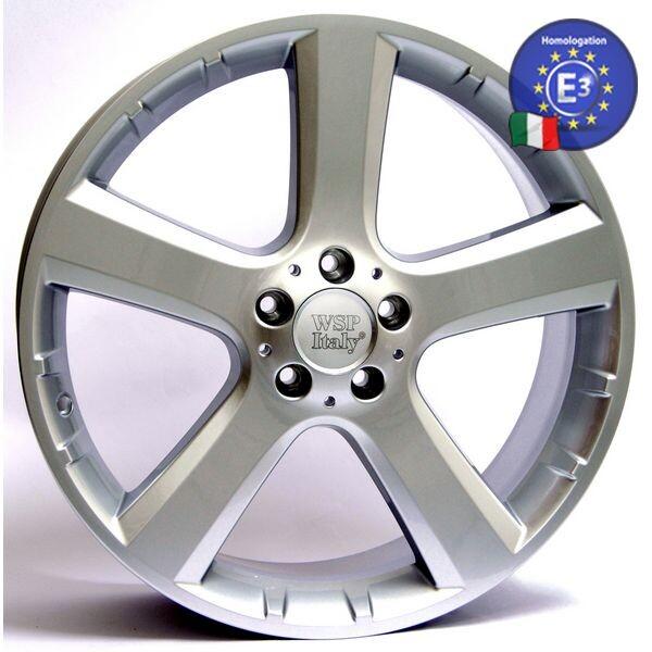 Купить Автомобильные диски, Литой диск WSP Italy MERCEDES W751 COPACABANA R20 W8, 5 PCD5X112 ET35 DIA66, 6 SILVER