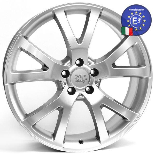 Купить Автомобильные диски, Литой диск WSP Italy MERCEDES W750 YALTA R20 W8, 5 PCD5X112 ET35 DIA66, 6 SILVER