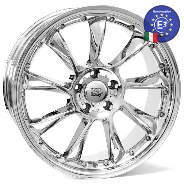 Купить Автомобильные диски, Литой диск WSP Italy MERCEDES W729 MADRID ME29 R19 W8, 5 PCD5X112 ET35 DIA66, 6 CHROME