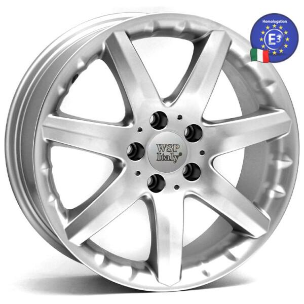 Купить Автомобильные диски, Литой диск WSP Italy MERCEDES W738 ELBA R17 W7, 5 PCD5X112 ET35 DIA66, 6 HYPER SILVER