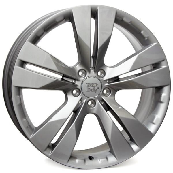 Купить Автомобильные диски, Литой диск WSP Italy MERCEDES W767 MANILA R18 W8 PCD5X112 ET35 DIA66, 6 SILVER