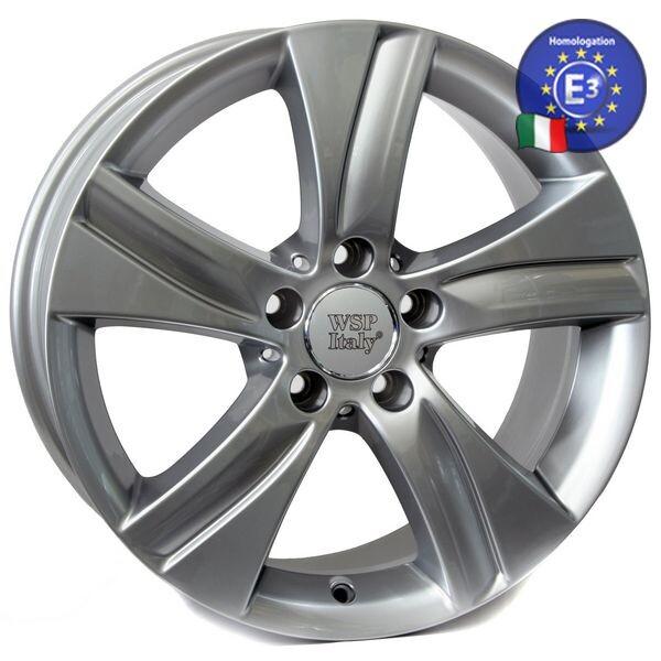 Автомобильные диски, Литой диск WSP Italy MERCEDES W765 ERIDA R17 W8, 5 PCD5X112 ET38 DIA66, 6 SILVER  - купить со скидкой