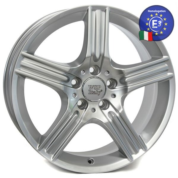Купить Автомобильные диски, Литой диск WSP Italy MERCEDES W763 DIONE R17 W8, 5 PCD5X112 ET38 DIA66, 6 SILVER