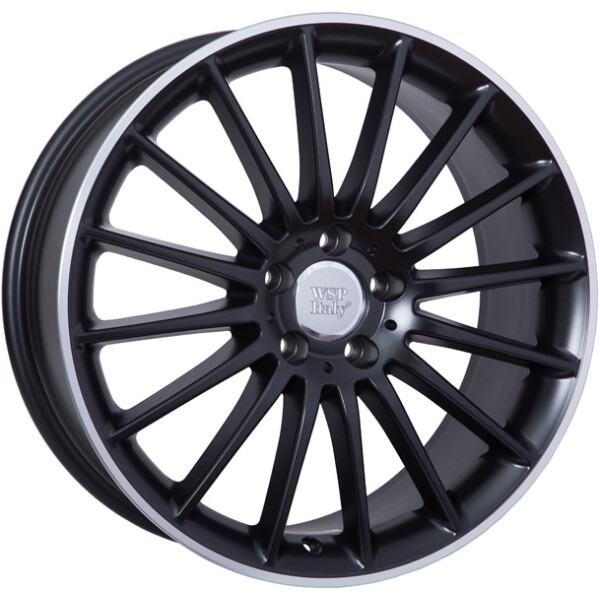 Купить Автомобильные диски, Литой диск WSP Italy MERCEDES W773 SHANGHAI R19 W8 PCD5X112 ET38 DIA66, 6 DULL BLACK R POLISHED