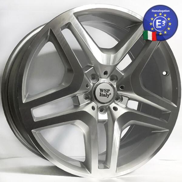 Купить Автомобильные диски, Литой диск WSP Italy MERCEDES W774 ISCHIA R20 W8, 5 PCD5X112 ET40 DIA66, 6 SILVER POLISHED