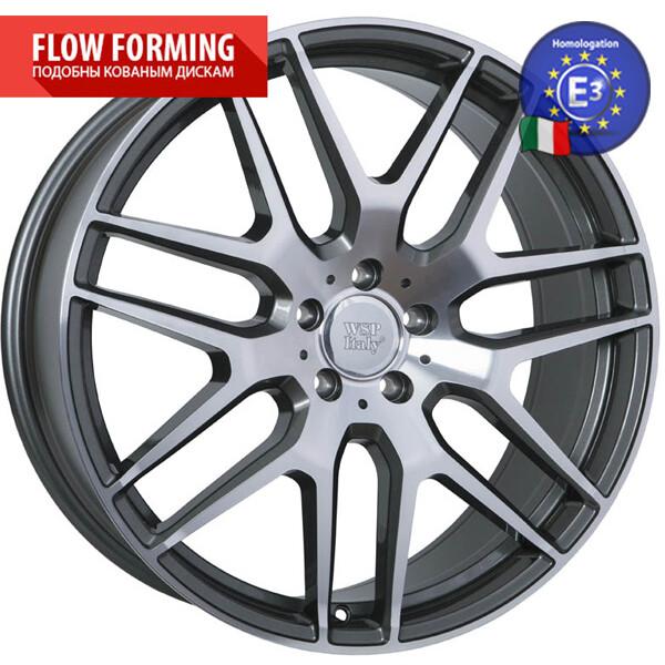Купить Автомобильные диски, Литой диск WSP Italy MERCEDES W778 ERIS R21 W11 PCD5X112 ET38 DIA66, 6 ANTHRACITE POLISHED
