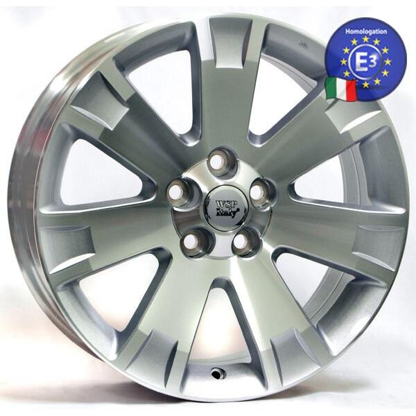 Купить Автомобильные диски, Литой диск WSP Italy MITSUBISHI W3004 POSEIDONE R19 W8 PCD5X114, 3 ET38 DIA67, 1 SILVER POLISHED