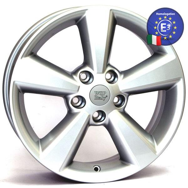 Купить Автомобильные диски, Литой диск WSP Italy NISSAN W1850 QASHQAI R17 W6, 5 PCD5X114, 3 ET40 DIA66, 1 SILVER