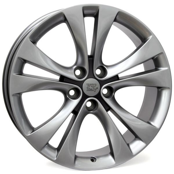 Купить Автомобильные диски, Литой диск WSP Italy OPEL W2506 MERCURY R19 W8, 5 PCD5X120 ET45 DIA67, 1 HYPER ANTHRACITE