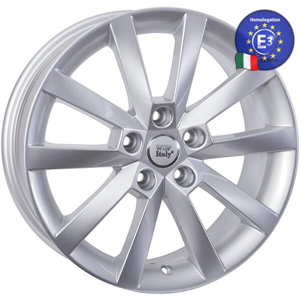 Купить Автомобильные диски, Литой диск WSP Italy SKODA W3503 BELGOROD R17 W7 PCD5X112 ET49 DIA57, 1 SILVER