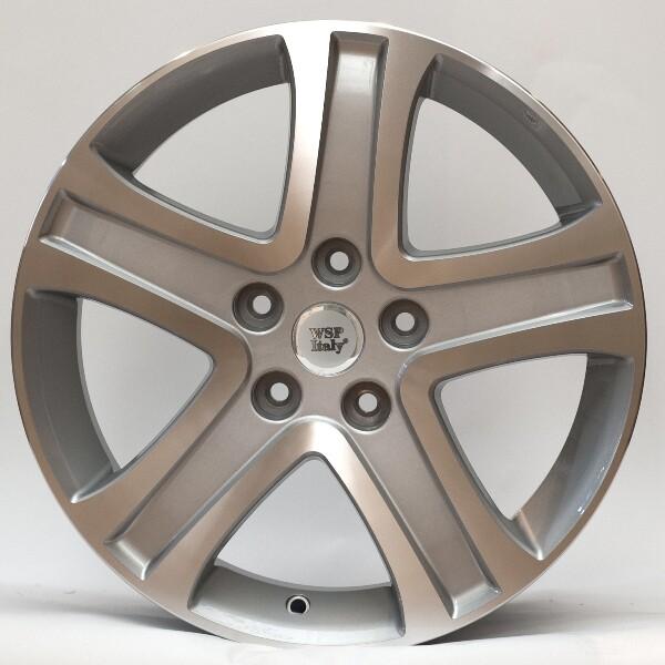 Купить Автомобильные диски, Литой диск WSP Italy SUZUKI W2850 SIRIUS R17 W6, 5 PCD5X114, 3 ET45 DIA60, 1 SILVER POLISHED