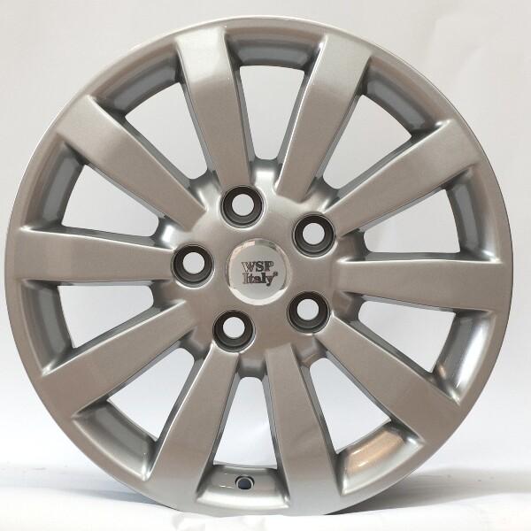 Купить Автомобильные диски, Литой диск WSP Italy TOYOTA W1752 AURIS R16 W6, 5 PCD5X114, 3 ET45 DIA60, 1 SILVER