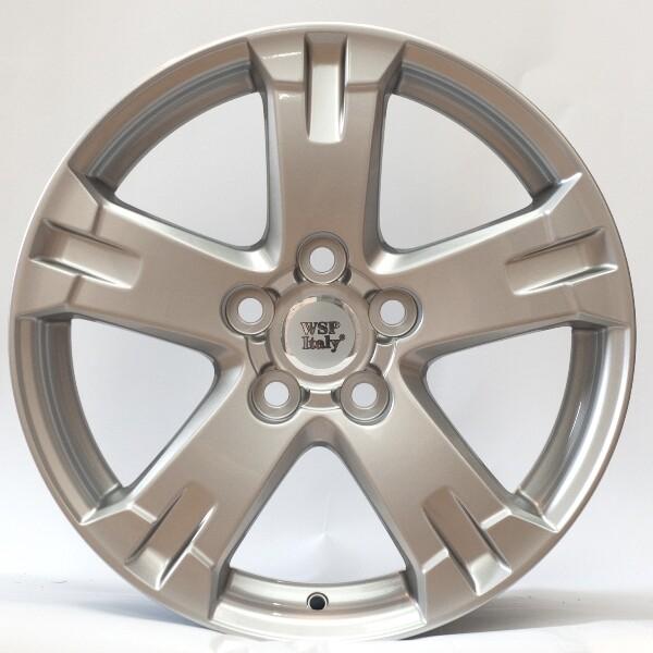 Купить Автомобильные диски, Литой диск WSP Italy TOYOTA W1750 CATANIA R17 W7 PCD5X114, 3 ET45 DIA60, 1 SILVER POLISHED