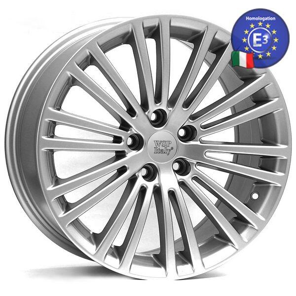Купить Автомобильные диски, Литой диск WSP Italy VOLKSWAGEN W450 DRESDEN R17 W7, 5 PCD5X112 ET45 DIA57, 1 SILVER
