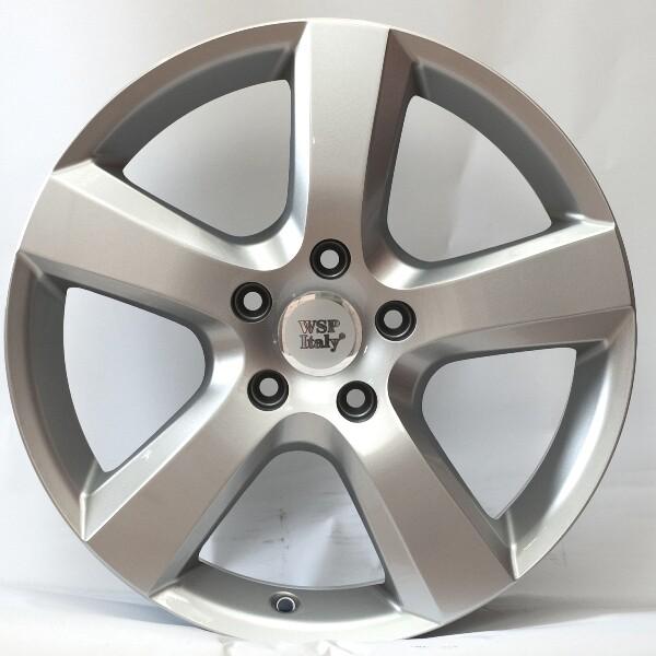 Купить Автомобильные диски, Литой диск WSP Italy VOLKSWAGEN W451 DHAKA R18 W8 PCD5X112 ET30 DIA57, 1 SILVER