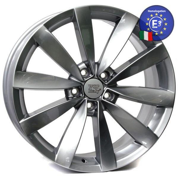 Автомобильные диски, Литой диск WSP Italy VOLKSWAGEN W457 ROSTOCK R18 W8 PCD5X112 ET40 DIA57, 1 SILVER  - купить со скидкой