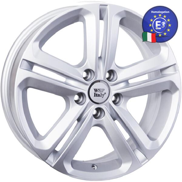Купить Автомобильные диски, Литой диск WSP Italy VOLKSWAGEN W467 XIAMEN R17 W7 PCD5X112 ET33 DIA57, 1 SILVER