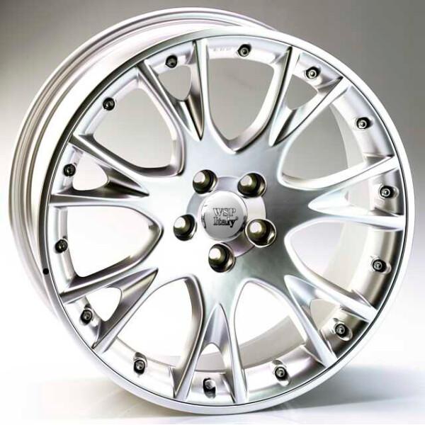 Купить Автомобильные диски, Литой диск WSP Italy VOLVO W1210 WIND R17 W7, 5 PCD5X108 ET38 DIA67, 1 HYPER SILVER