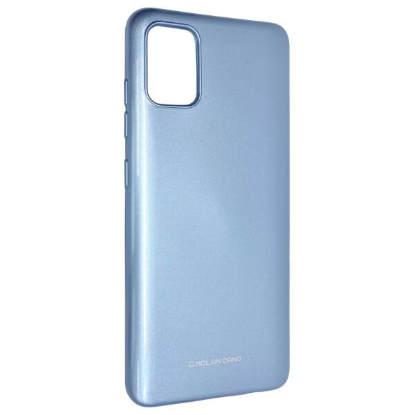 Купить Чехлы для телефонов, Чехол-накладка Silicone Molan Cano Jelly Case для Samsung Galaxy A51 (SM-A515) (blue)