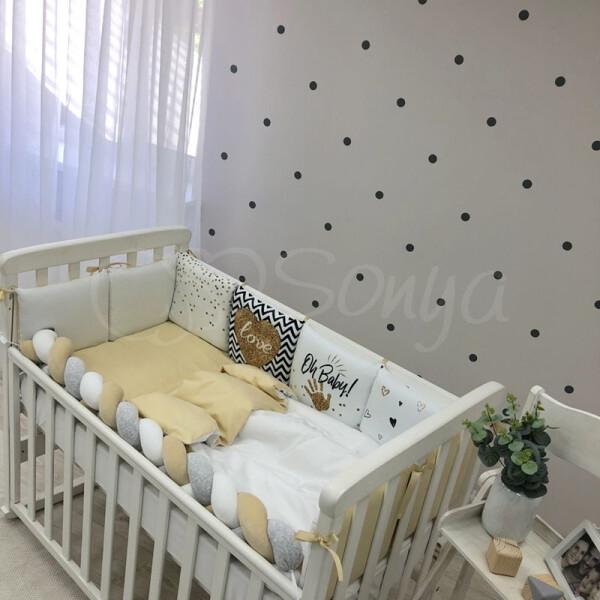 Купить Комплекты постельного белья, детский Маленькая Соня Арт Дизайн + бортик Коса Art Design Oh Baby