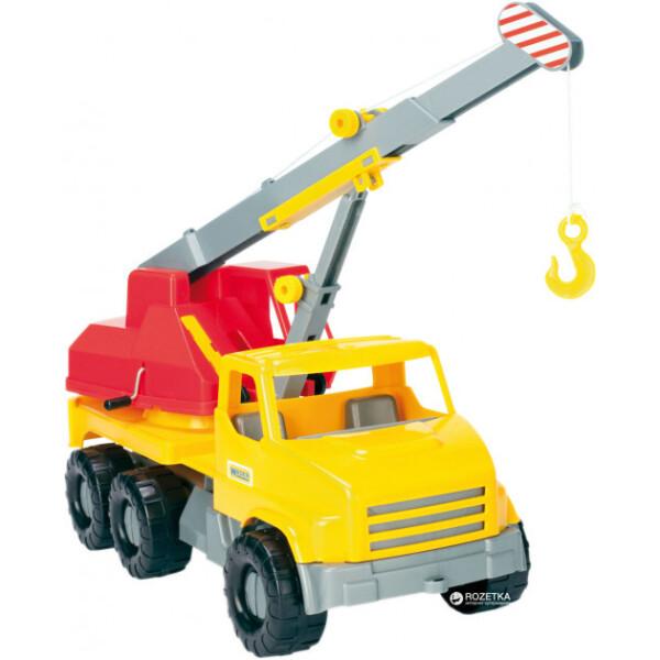 Купить Машинки, техника игровая, Автокран City Truck 39366, Tigres