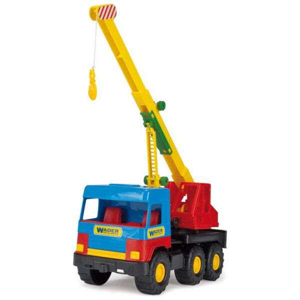 Купить Машинки, техника игровая, Автокран Middle truck 39226, Tigres