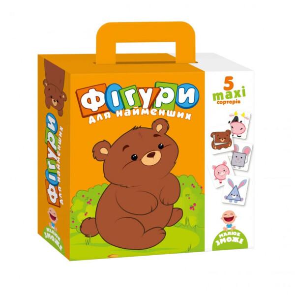 Купить Игрушки для самых маленьких, Набор сортеров Фигуры для самых маленьких VT2904-03 (укр), Vladi Toys