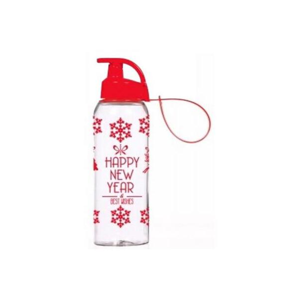 Купить Фляги и бутылки, Бутылка для воды Herevin Happy New Year 0.5 л (161415-836) Original