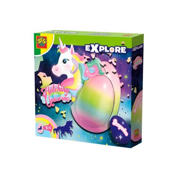 Купить Игровые наборы, Игровой набор SES Creative растущая игрушка Единорог в Яйце (25121S) Original