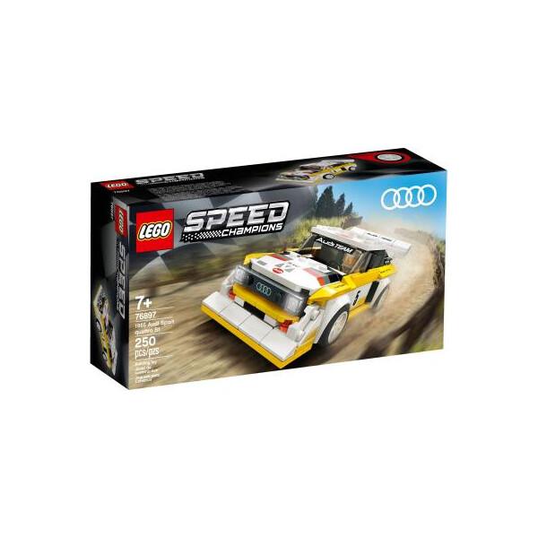 Купить Конструкторы, Конструктор LEGO Speed Champions 1985 Audi Sport quattro S1 250 деталей -76897 Original