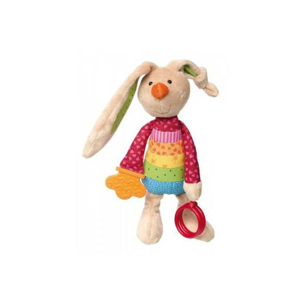 Купить Мягкие игрушки, Мягкая игрушка sigikid Кролик с погремушкой 26 см (41419SK) Original