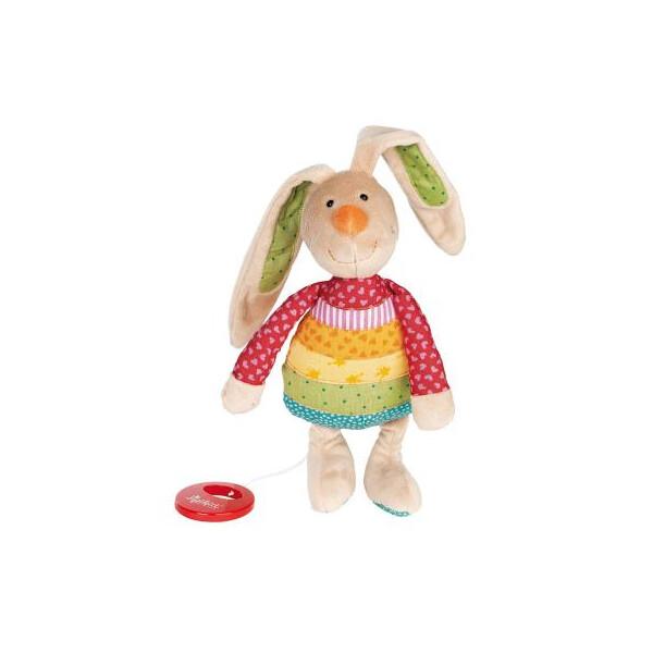 Купить Мягкие игрушки, Мягкая игрушка sigikid музыкальный Кролик 27 см (40577SK) Original
