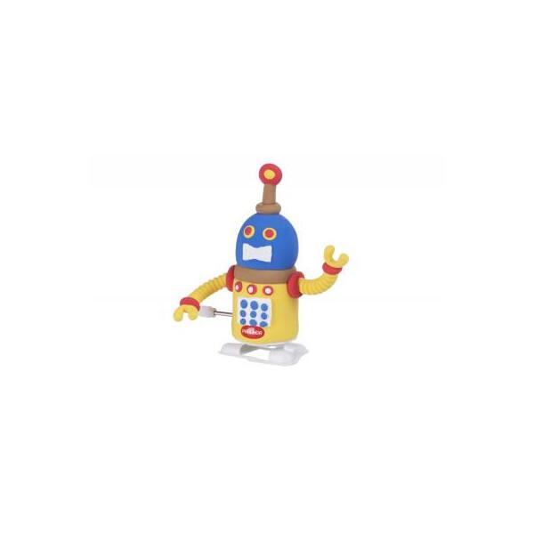 Набор для творчества Paulinda Super Dough Robot заводной механизм (шагает), желтый (PL-081178-2) Original