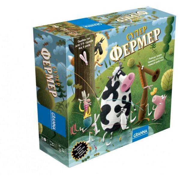 Купить Настольные игры, Настольная игра Granna Суперфермер в стиле Ранчо 81756 Original