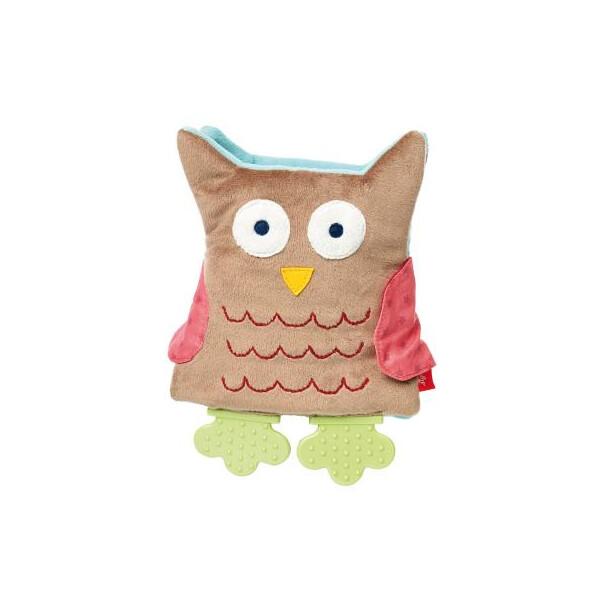Купить Игрушки для самых маленьких, Развивающая игрушка sigikid Мягкая шуршащая книжечка сова 19 см (41511SK) Original