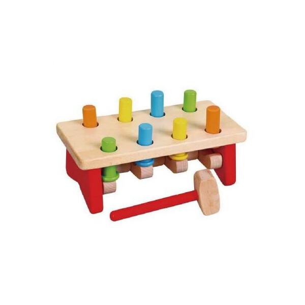 Купить Игрушки для самых маленьких, Развивающая игрушка Viga Toys Забей гвоздик 59719 Original