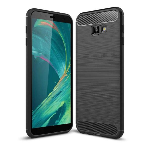 Чехол для мобильного телефона Laudtec для Samsung J4 Plus/J415 Carbon Fiber (Black) (LT-J415F)