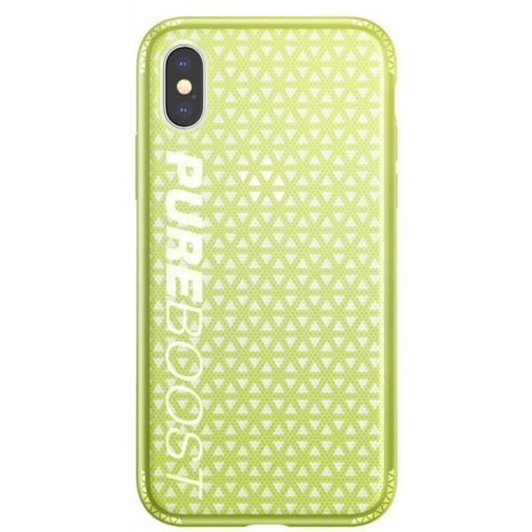 Купить Чехлы для телефонов, Чехол для мобильного телефона Baseus Parkour для iPhone X, Lemon green (WIAPIPHX-KP06)