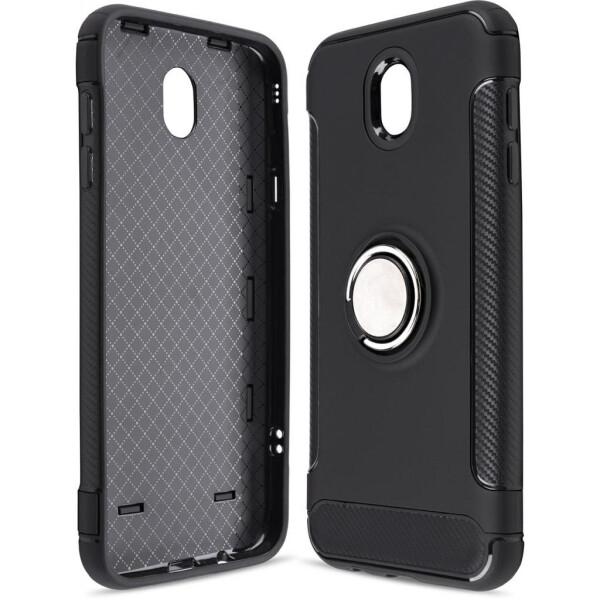 Купить Чехлы для телефонов, Чехол для мобильного телефона Laudtec для Samsung J7 2017/J730 Ring stand (black) (LR-J730-BC)