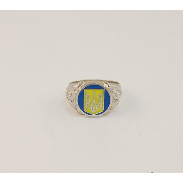 Купить Серебряные кольца, Печатка с гербом Maxi Silver 6921 SE, размер 17