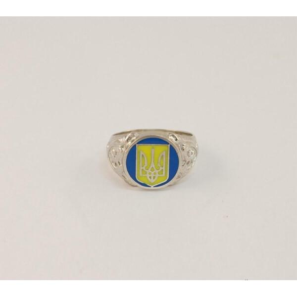 Купить Серебряные кольца, Печатка с гербом Maxi Silver 6921 SE, размер 18.5