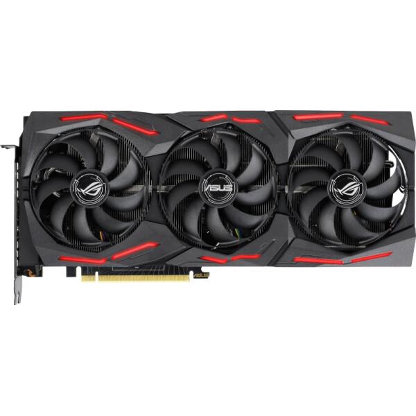 Купить Видеокарты, Asus GeForce RTX2080 SUPER 8192Mb ROG STRIX OC GAMING (ROG-STRIX-RTX2080S-O8G-GAMING)