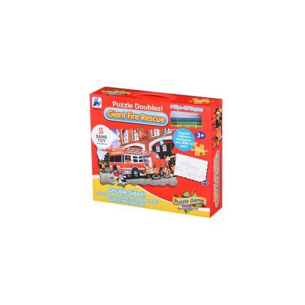 Купить Пазлы, Пазл Same Toy Пожарная машина (2038Ut)