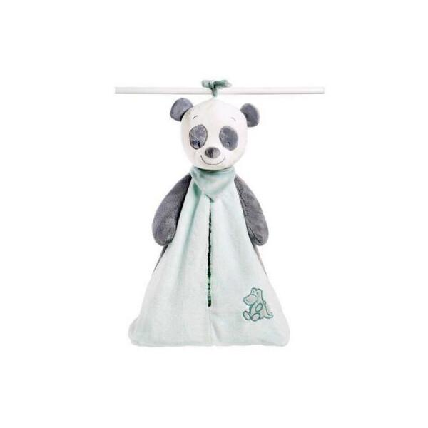 Купить Мягкие игрушки, Мягкая игрушка Nattou Сумка для подгузников пандочка Лулу (963626)