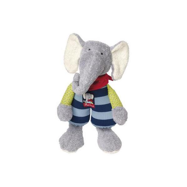 Купить Мягкие игрушки, Мягкая игрушка sigikid Слоник 24 см (48803SK)