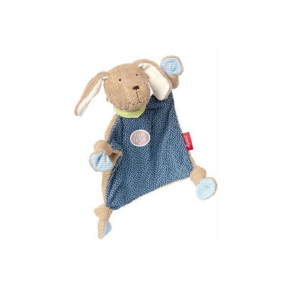 Купить Мягкие игрушки, Мягкая игрушка sigikid квадратная Собачка 26 см (38792SK)