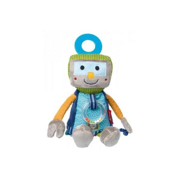 Купить Мягкие игрушки, Мягкая игрушка sigikid интерактивный Робот 25 см (41673SK)